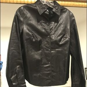 Express Leather Top/Jacket